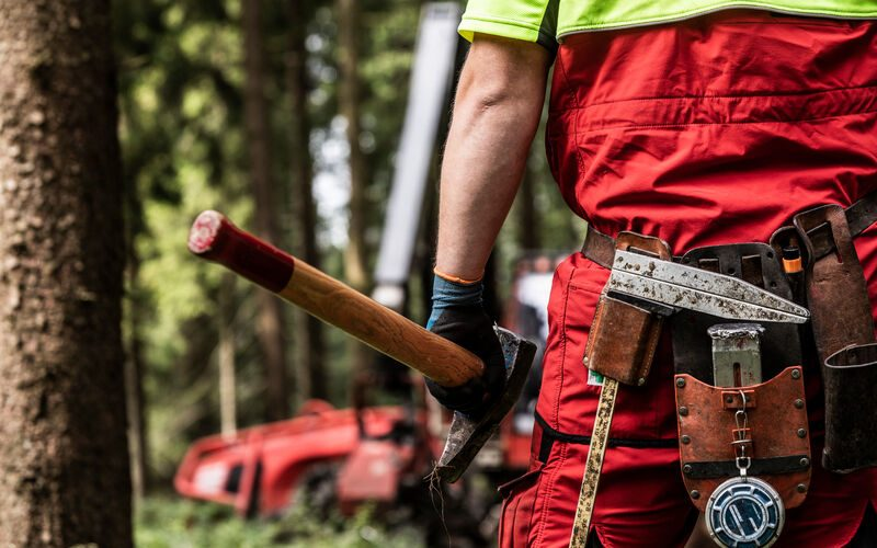 Waldarbeiterguertel