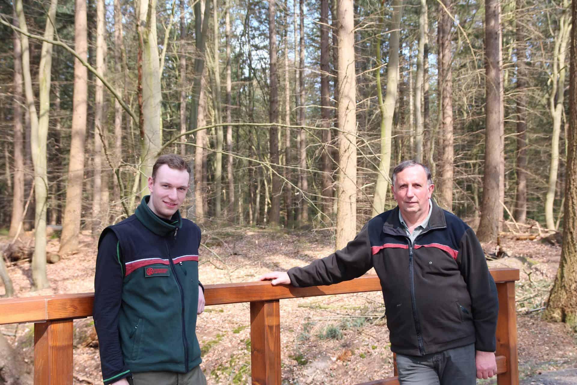 Revierleiter der Försterei Sandkrug geht in den Ruhestand - Niedersächsische Landesforsten