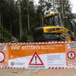 Forstamt Harsefeld: Waldsperrung