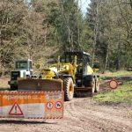 Wiederherstellung Waldweg